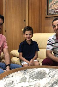 Ampliar información de El Alcalde y el concejal de Deporte reciben a Daniel Pérez tras sus éxitos en el ajedrez.