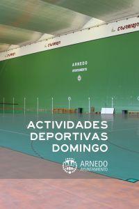 Ampliar información de Actividades Deportivas Domingo 15 de diciembre
