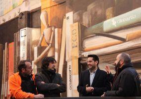 Ampliar información de Presentado la gigantogradía del nuevo espacio Leopoldo Alas
