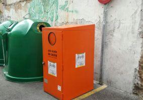 Ampliar información de Instalado un nuevo contenedor para aceite doméstico