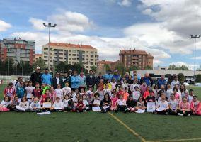 Ampliar información de Éxito rotundo en el primer clinic femenino organizado por la Escuela de Fútbol de Arnedo