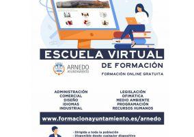Ampliar información de Nueva Escuela Virtual de formación Ayuntamiento de Arnedo