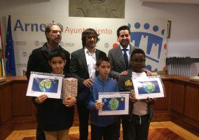 Ampliar información de Tres alumnos arnedanos premiados en el concurso de Aqualia