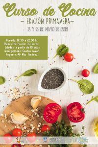Ampliar información de Curso de cocina de primavera