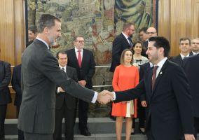 Ampliar información de Encuentro de Felipe VI con el Alcalde de Arnedo