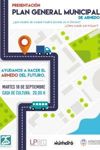 Ampliar información de Reunión Presentación del Plan General Municipal