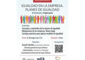 Ampliar información de Jornada Webinar: Obligaciones de las empresas en materia de igualdad.
