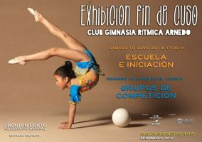 Ampliar información de Exhibición Gimnasia Rímica - Grupos de competición