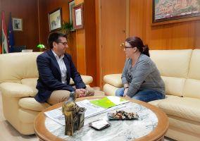 Ampliar información de Primer encuentro con la nueva edil de Ciudadanos, Virginia Domínguez