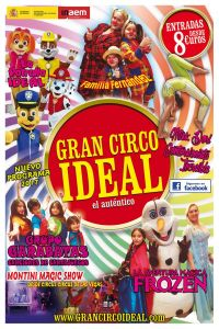 Ampliar información de Gran Circo Ideal 19:30 h.