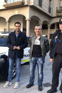 Ampliar información de Se ha presentado el nuevo coche patrulla de la Policía Local
