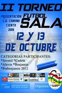 Ampliar información de II Torneo Presentación Fútbol Sala C.D. Camino Cienta