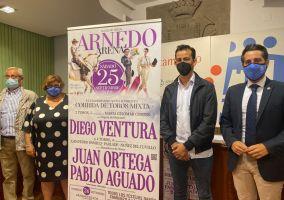 Ampliar información de Presentados los festejos taurinos a celebrar en el Arnedo Arena los días 25 y 26 de septiembre