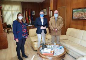 Ampliar información de Reunión de trabajo con el delegado saharaui en La Rioja, Abdalahe Hamad Ahmed.