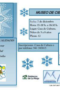 """Ampliar información de Taller """"La Navidad llega al Museo""""."""