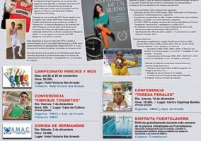 Ampliar información de Charla: Mejor deportista riojano con discapacidad 2015.