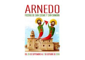 Ampliar información de Muestra de las obras presentadas al concurso del cartel de fiestas de San Cosme y San Damián 2018