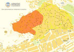 Ampliar información de El Ayuntamiento contrata la redacción de un proyecto de iluminación LED en parte del Casco Antiguo