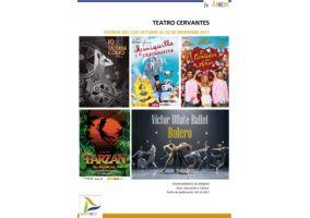 Ampliar información de Programa Teatro Cervantes. Del 5 de octubre al 16 de diciembre