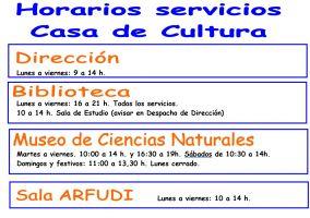 Ampliar información de Cambio de horario de la Biblioteca y del Museo de Ciencias Naturales
