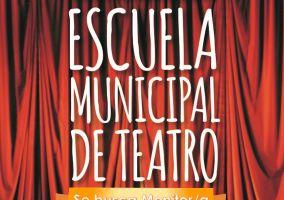 Ampliar información de La Escuela Municipal de Teatro busca monitor/a.