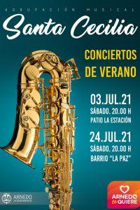 Ampliar información de Concierto de la Banda en el barrio de La paz.