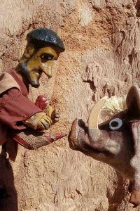 Ampliar información de Teatro de títeres en la calle: Noe y la parra.