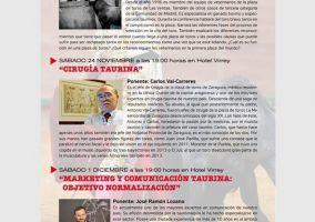 Ampliar información de XII Conferencias Taurinas Club Taurino Arnedano