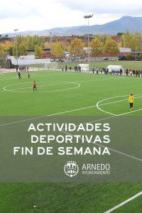Ampliar información de Actividades Deportivas Domingo 10 de noviembre
