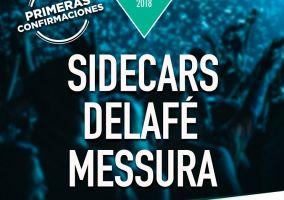 Ampliar información de Sidecars, Delafé y Messura, primeras confirmaciones del Fárdelej 2018
