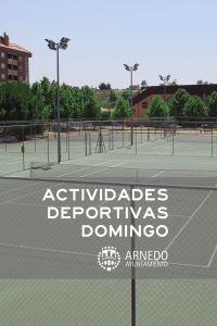 Ampliar información de Actividades Deportivas Domingo 26 de Enero