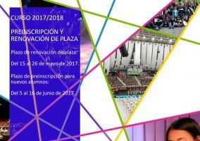 Ampliar información de Preinscripciones nuevos alumnos Escuela Mpal. de Música Curso 2017-2018