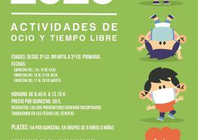 Ampliar información de 2ª quincena de julio 1º y 2º de Ed. Primaria Ocio y Tiempo Libre en el parque 2020