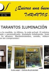 Ampliar información de Iluminación Tarantos, S.L.