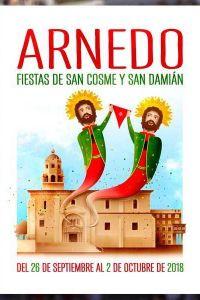 Ampliar información de Bases y convocatoria del Concurso del Cartel anunciador de las Fiestas en honor a San  Cosme y San Damián 2019.