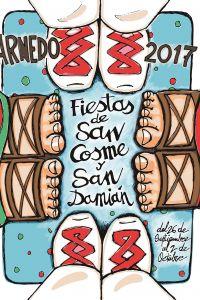Ampliar información de Bases y convocatoria del Concurso del Cartel anunciador de las Festas en honor a San Cosme y San Damián 2018.