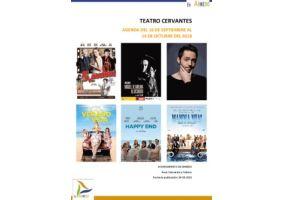 Ampliar información de Programa Teatro Cervantes del 16 de septiembre al 14 de octubre