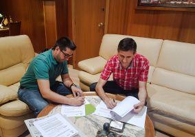 Ampliar información de Firma del Convenio entre Ayuntamiento y Cruz Roja para las acciones de 2018.
