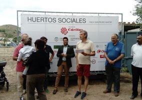 Ampliar información de Entregados los huertos sociales de Cáritas Parroquial