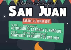 Ampliar información de Vive la magia de San Juan: 26 de junio del 2021.