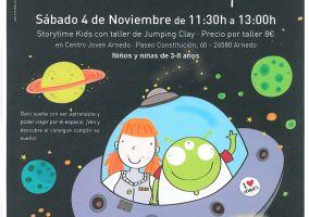 Ampliar información de Storytime Kids con taller Jumping Clay