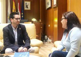 Ampliar información de Encuentro bilateral entre el Alcalde, Javier García, y la Portavoz de Ciudadanos, Virginia Domínguez.