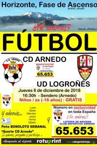 Ampliar información de Partido de fútbol C.D. Arnedo 3ª División