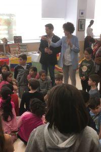 Ampliar información de El Alcalde participa en la inaugración de la exposición multicultural del CEIP La Estación