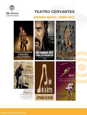 Programación Teatro Cervantes Mayo - Junio 2012.