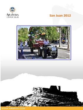 Programa de actos de San Juan 2012.