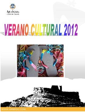 Verano Cultural: agosto 2012.