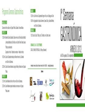 I Semana Gastronómica y del Pincho 2012