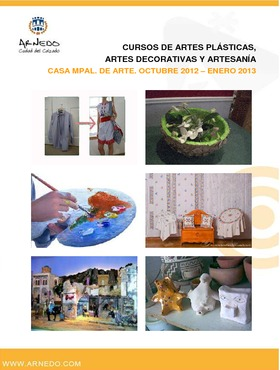 Cursos de Artes Plásticas, Artes Decorativas y Artesanía