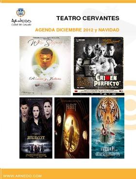 Programación Teatro Cervantes de diciembre 2012 y Navidad.